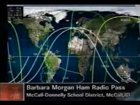 Barbara Morgan KD5VNP Ham Radio Pass on ISS