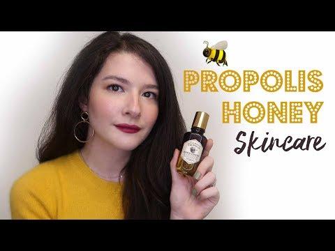 Propolis & Bal ürünleri │ Parlak, nemli ve ışıltılı bir cilt mümkün! 🍯