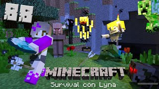 ¡Tengo que sobrevivir la noche! | Minecraft: Survival con Lyna #88
