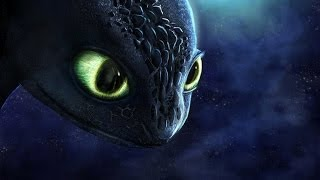 How to Train Your Dragon - Toothless Speedpaint - 2 Years Later.
