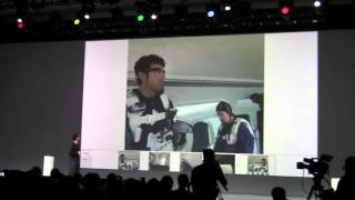 Google Glasses Parachute Into Google IO with Sergey Brin (Part 2)