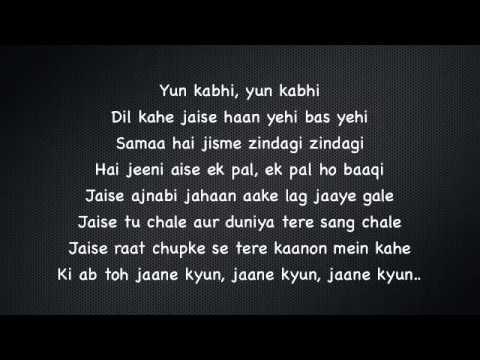 Tu Meri   Bang Bang lyrics thumbnail