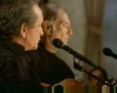 Johnny Cash & Willie Nelson - Folsom Prison Blues