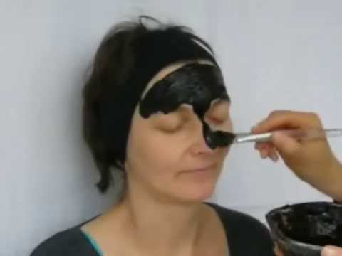 Clear Skin Facial Mask Tutorial:Moormask:Skin Face Care Acne Mask:Moor Mask