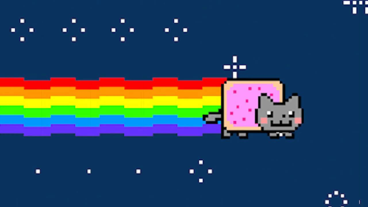 Nyan Cat Rainbow Hd