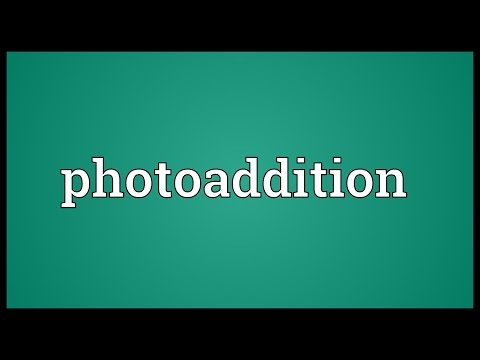 Header of Photoaddition