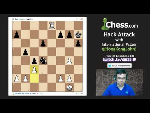 Hong Kong John's Halftime Show on Hack Attack 36!