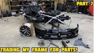Rebuilding a Wrecked 2017 Dodge Viper Part 7