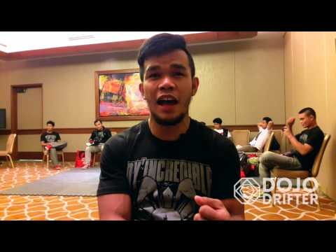 Rolando Gabriel Dy PXC 53 Post-fight Interview | Dojo Drifter