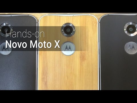 Hands-on: Novo Moto X   Tudocelular.com