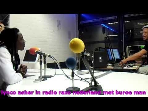 lynco asher live interview met buroe man in radio razo amsterdam