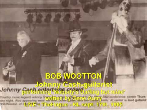 BOB WOOTTON singing 'Nobody's Darling but mine' LIVE The Hague, sept.1995.mp4