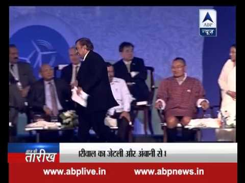 See what happened when Mukesh Ambani, Arvind Kejriwal and Arun Jaitley came face to face