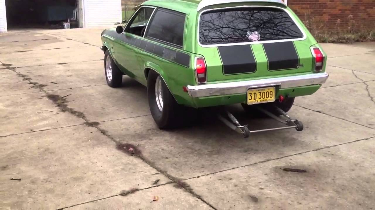 Chevy Hot Rod 1971 Pro Street Vega Wagon 355 - YouTube