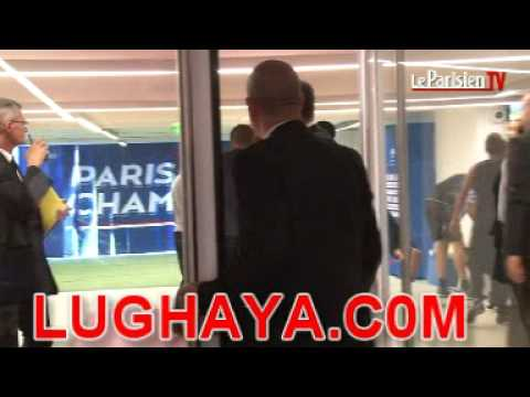 Brandao Headbutts Thiago Motta and Runs (Tunnel Fight Extended Version) HD