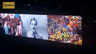 El procés català apareix en un concert d'U2