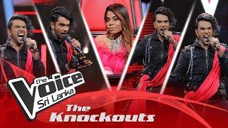 Yomal Samarakoon | Miriguwa Parada (මිරිගුව පරදා) | The Knockouts | The Voice Sri Lanka