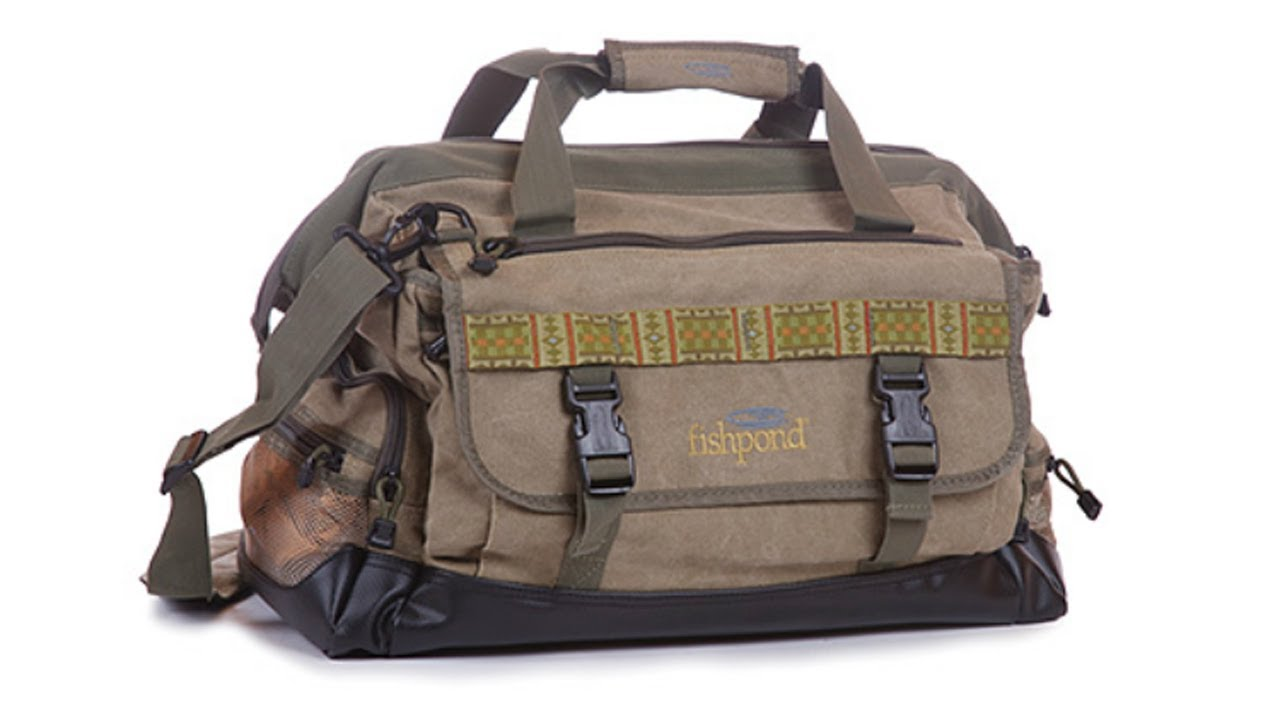 Fishpond Bighorn Fly Fishing Kit Gear Bag Youtube