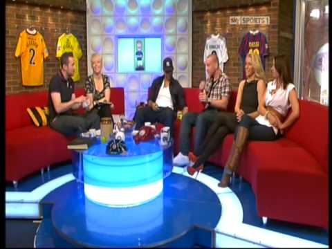 Soccer AM - SoccerSuckers - Joleon Lescott, Jamie O'Hara, Danielle Lloyd