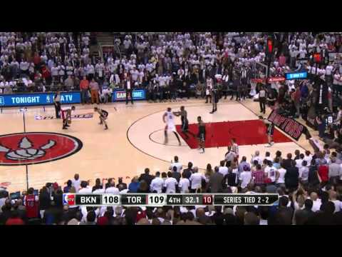Brooklyn Nets vs Toronto Raptors Game 5 | April 30, 2014 | NBA Playoffs 2014