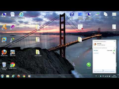 Compartir conexión wifi con windows 7.