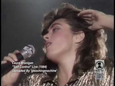 Laura Branigan - self Control Live *rare* [#] video