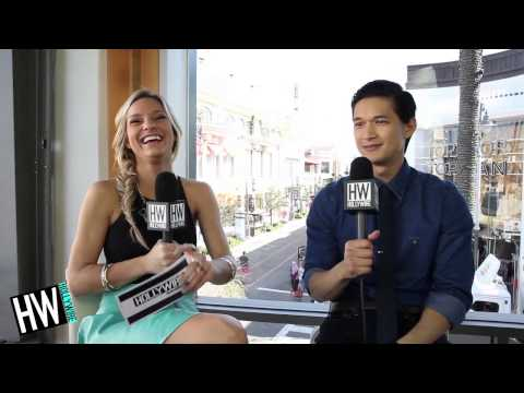 Harry Shum, Jr. Reveals Go-To Dance Moves & Celebrity Crushes!