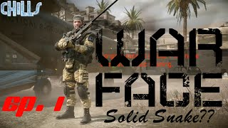 """Warface Anubis 2016  Ep. 1 """"First Look and Impressions, Solid Snake?"""" free to play"""