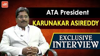ATA President Karunakar Asireddy Exclusive Interview | American Telugu Association