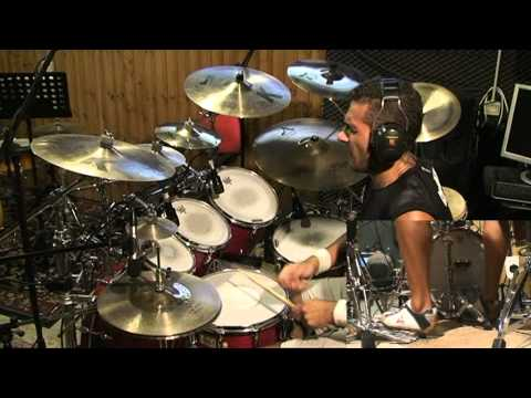 Avenged Sevenfold - nightmare - drum cover by Andrea Mattia Music Videos