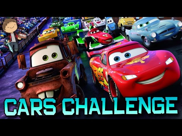 Minecraft: CARS RADIATOR SPRINGS CHALLENGE PVP! with The Pack!