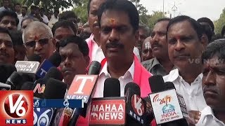 Leaders File Nominations For Telangana Assembly Assembly Polls 2018