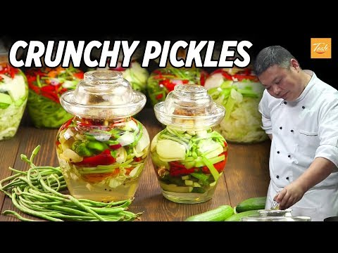The Best Crunchy Pickles and Pickled Cucumber You'll Ever Eat • Taste The Chinese Recipes Show