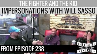The Fighter and The Kid - Impersonations with Will Sasso