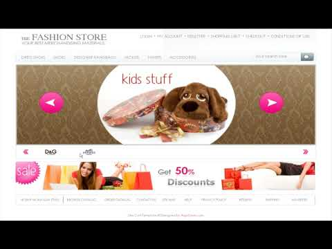 0 Fashion Store osCommerce template
