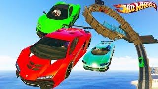Epic Hot Wheels Tracks - GTA 5 Hot Wheels Track Races - Grand Theft Auto V