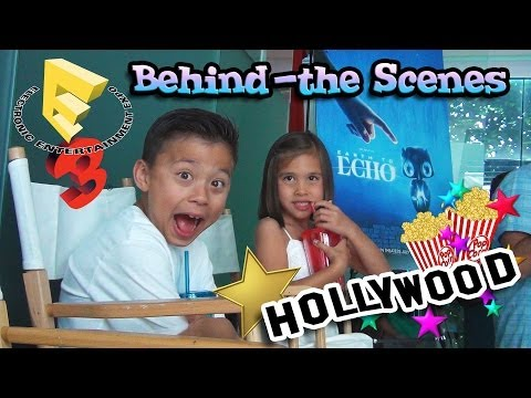 Behind-the-Scenes LA Adventure!!! E3, Shaytards & Earth to Echo!