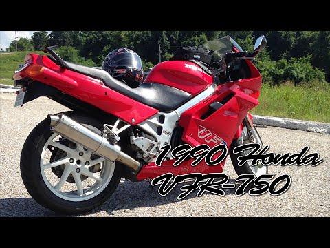1990 Honda VFR-750   First Ride