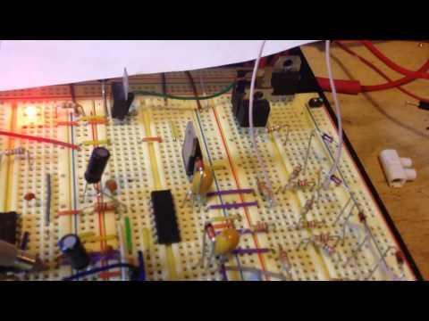 Управление полевым транзистором. Снабер на звон открытия.