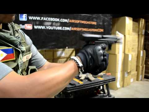 KWA USP-MK23 - Gas BlowBack - Product Review Chrono and Demo