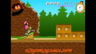 Online Dora The Explorer Games - Dora The Explorer Bmx Game