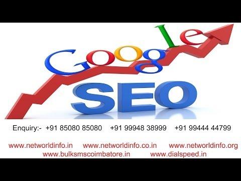 Search engine optimization (Google SEO) service in Coimbatore - Net World