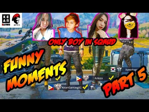 "Rules Of Survival PH - Funny Moments ""Only Boy in Squad"" Part 5"