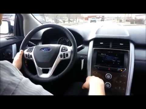 Test drive of the 2014 Ford Edge SEL