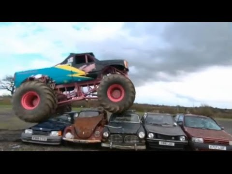 Monster Truck Nuns - Top Gear - BBC
