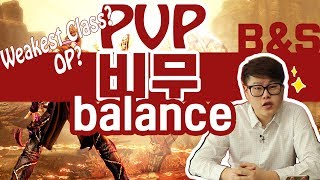 Blade and Soul - PVP Balance? Class ranking From KR Pro Players