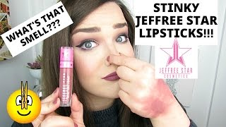 STINKY JEFFREE STAR LIQUID LIPSTICKS! | WHATS GOING ON? MY EXPERIENCE!
