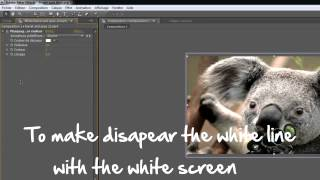 Tutorial green screen and white screen # After effects !