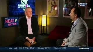 March 06, 2015 - Sunsports - Miami Heat's Pat Riley Speaks about Erik Spoelstra