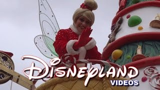 Christmas Parade/Parade de Noel 2014 - Disneyland Paris HD